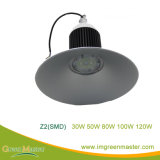 Z2 30W 50W 80W 100W 120W 공장 창고 LED 높은 만 빛