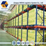Entreposto Industrial através da Unidade Rack para armazenamento de armazém