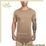 형식 적당 호리호리한 섹시한 둥근 밑바닥 남자 긴 t-셔츠 2017년