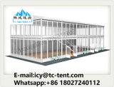 Blocco per grafici di alluminio Structuer 10X10m una tenda dei due pavimenti per l'evento esterno