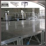 Этап напольного All-Terrain алюминия случая регулируемый портативный