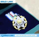 Le métal de médaille de souvenir ouvre le cadeau fait sur commande de promotion de médailles
