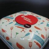 صفيحة مقصدرة خبز صندوق; شوكولاطة [سويتس&كندي] معدن قصدير ([س001-ف27])