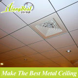 2017 Insonorizado y resistente al fuego clip en material de techo de aluminio