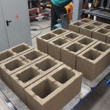 Qt4-15c konkretes Gebäude-Ziegelstein, der /Concrete blockiert Straßenbetoniermaschine-Block-Maschine bildet