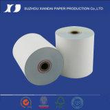 documento senza carbonio bianco/colore rosa Rolls di 2ply