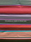 Strrip Blanco Rojo Negro púrpura tela de la impresión para ropa deportiva (HD1401118)