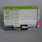 Imán magnético impreso aduana del refrigerador del calendario para el regalo de la promoción
