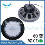 UL CE RoHS EMC FCC LVD usine de Shenzhen 200W UFO LED High Bay lumière