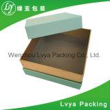 Rectángulo de papel acanalado reciclado plegable de encargo del rectángulo de papel con la impresión de Cmyk y de Pantone
