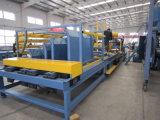 Pálete de madeira da longarina profissional que prega a máquina/linha de produção