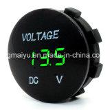 12V-24V van de LEIDENE van de Motorfiets van de auto Waterdichte de Contactdoos Voltmeter van de Digitale Vertoning gelijkstroom