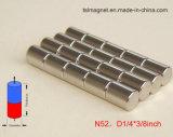 Magnete permanente sinterizzato del Rod del neodimio di rendimento elevato