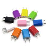 Bunte 5V 1A EU stecken USB-Wand-Aufladeeinheits-Adapter für iPhone 7 6s 6 6 plus 5 5s ein