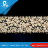 Hot Sale Transpirable Heavy Polyester Tricot Hole Mesh Lace Fabric