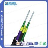 Cable lejano I de la transmisión del redondo a dos caras óptico de la fibra