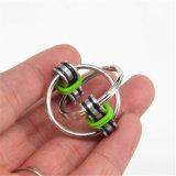 새로운 디자인 열쇠 고리 싱숭생숭함 방적공 장난감 Anti-Stress 방적공 반지