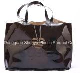 Sacola grande de PVC para o saco de praia de bolsas de PVC presente de promoção
