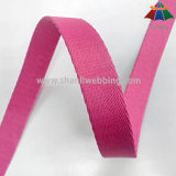 2cm Pink Thickened Herringbone Polyester Webbing para Pet Collar e Leash