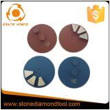 80mm 10 Segsの2 Pinの具体的な粉砕の金属のダイヤモンド