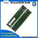 Лучшая цена без буферизации с кодом коррекции ошибок 512 mbx8 16c DDR3 RAM 8 ГБ