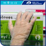 100% содержат латекс одноразовые виниловые перчатки / перчатки из ПВХ порошок или порошок свободной