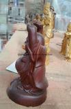 Будда Майтрейя из дерева ручной работы
