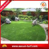 Estera artificial natural de la hierba que ajardina para el jardín