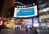 Grünes Produkt-an der Wand befestigtes im Freiendigital LED-Bildschirmanzeige-Anschlagtafel-Bekanntmachen (P10)