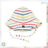 カスタムサイズの赤ん坊のアクセサリの縞の印刷の赤ん坊の帽子