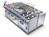 モジュラー調理の範囲範囲、電気かガスを調理するライン、立場