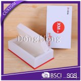 Fini Mat dur papier Mobile Phone Box Emballage personnalisé