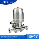Válvula de diafragma neumática sanitaria del acero inoxidable (DY-V101)