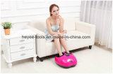 Rojo cómodo masajeador de pie para amasar Shiatsu masaje con calor y la intensidad regulable