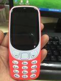 도매 작은 이중 SIM는 대기 싼 노인 이동 전화 2.4 Nokia 3310#를 위한 롤 가장자리 Screeen 전화에서 이중으로 한다