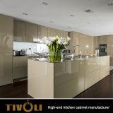 도매는 멜라민과 백색 색칠 부엌 찬장 Tivo-0074V를 주문 설계한다
