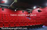 Panneau acoustique couvert de tissu de décoration de panneau de plafond de panneau de mur d'écran antibruit de panneau de fibre de verre