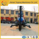 Máquina del aparejo de taladro del equipo de la perforación rotatoria del acoplado de la rueda para la venta