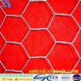 PVC che ricopre maglia esagonale di larghezza di 1.2m