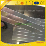 Profil d'extrusion en aluminium poli miroir pour salle de bains décoration