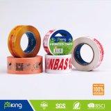 La Chine fournisseur acrylique Suppply BOPP bande imprimée