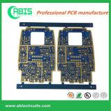 PCB синих чернил, электрическая твердая монтажная плата слоя