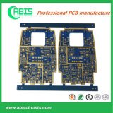 PCB de tinta azul, placa de circuito elétrico de camada rígida