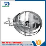 Aço inoxidável Medidas Sanitárias Yac-B-Tipo Pressão Manway Elipse