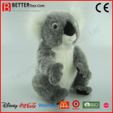 Urso de Koala macio Lifelike realístico do brinquedo do animal enchido do luxuoso de ASTM
