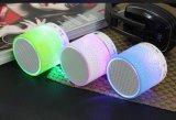 Светодиодный индикатор Bluetooth громкоговоритель Портативные беспроводные динамики музыкальный звук сабвуфера Hand-Free громкоговорителей для телефона с Mic TF FM USB