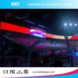 P6 Display LED de cores inteiras com sistema de controle síncrono
