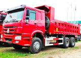 HOWO/HOHAN 6X4 resistente carro de volquete del vaciado del cargamento de 30 toneladas