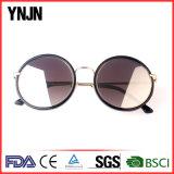 Óculos de sol redondos à moda novos da etiqueta confidencial de Ynjn