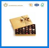熱い販売のボール紙キャンデーはディバイダが付いているペーパーチョコレートボックスを囲む(カスタム色刷と)